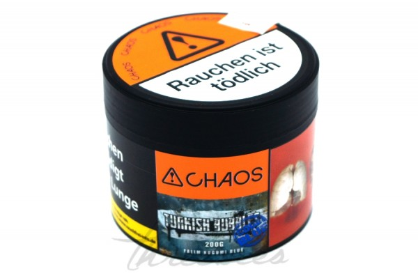 Chaos Tobacco - Classic Series - Turkish Bubbls Code Blue - 200g