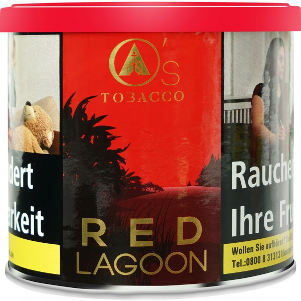 OS Tobacco O ´ S Red Series Red Lagoon 200g