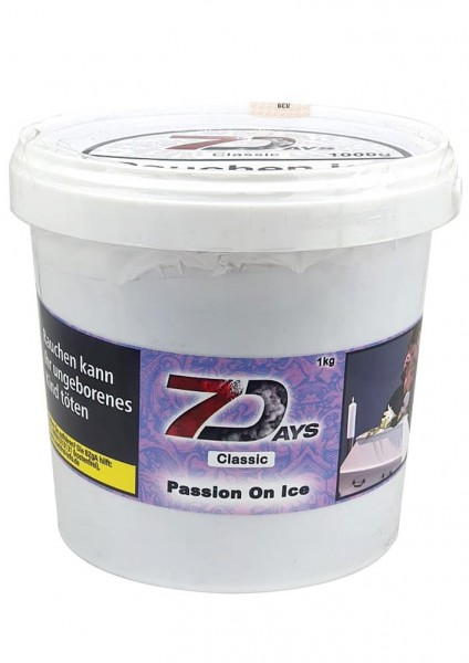 7 Days Classic - Passion On Ice - 1000g