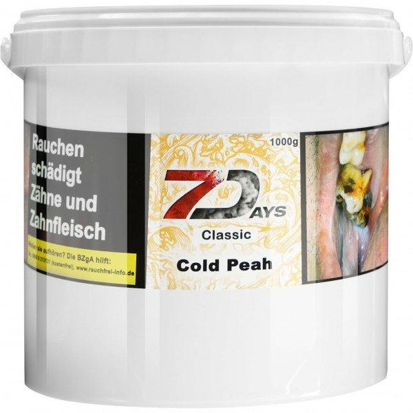 7 Days Classic Cold Peah 1000g