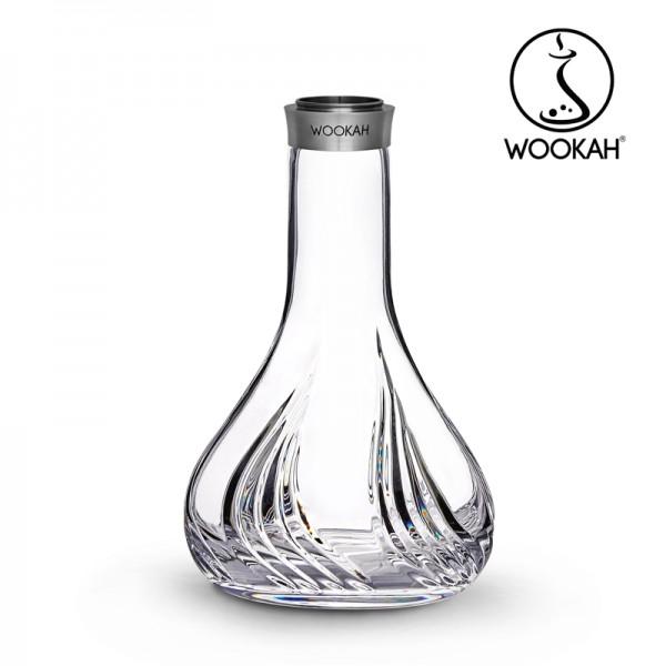 Wookah - Vase - Crystal - Flames