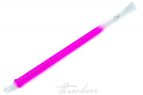 AO - Glasmundstück - Colored XL Flat - Pink