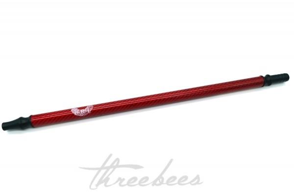 CRT Mundstück - Carbon - Rot - red
