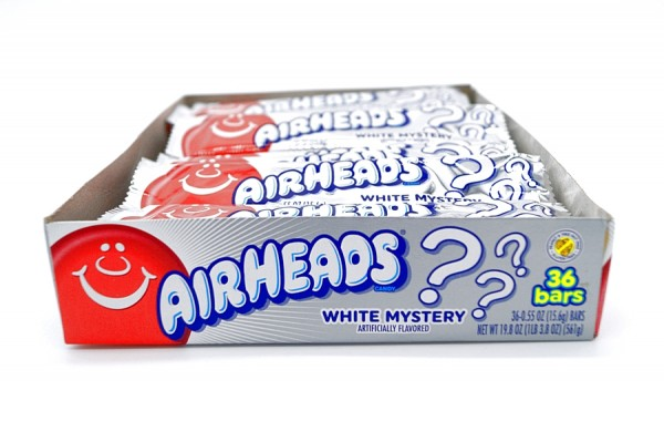 AIRHEADS Candy White Mystery 15,6g 36erPack