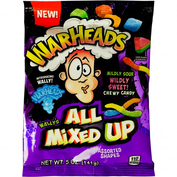 Warheads All Mixed Up 141 g