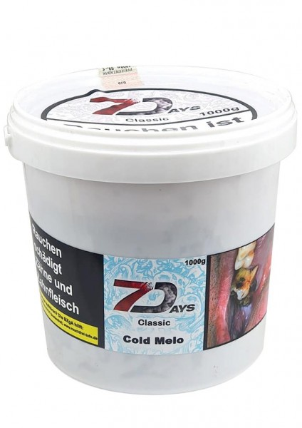 7 Days Classic - Cold Melo - 1000g