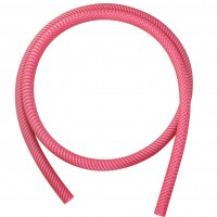 Bees Hookah Silikonschlauch Pink Carbon