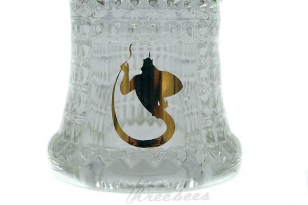 Dschinni - Glaskopf - Nero - Handmade