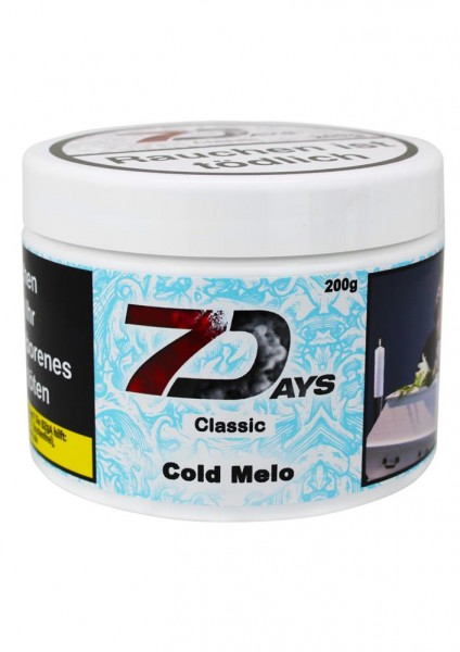 7 Days Classic Cold Melo 200g