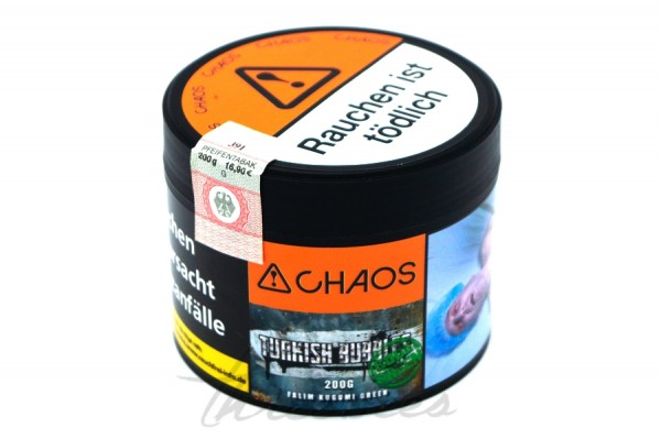 Chaos Tobacco - Classic Series - Turkish Bubbles - 200g