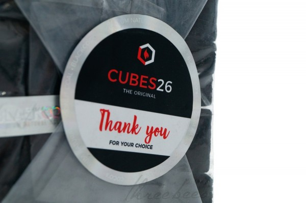 Black Cocos - Kokoskohle - Cubes26 26mm - Gastro- 1kg