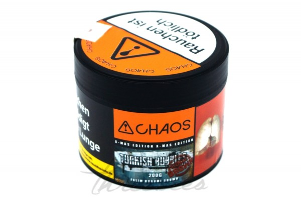Chaos Tobacco - Classic Series - Turkish Bubbles Code brown - 200g