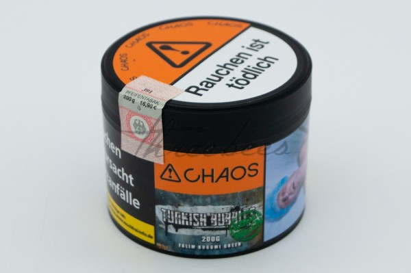 Chaos Tobacco Classic Series Turkish Bubbles Code Green 200g