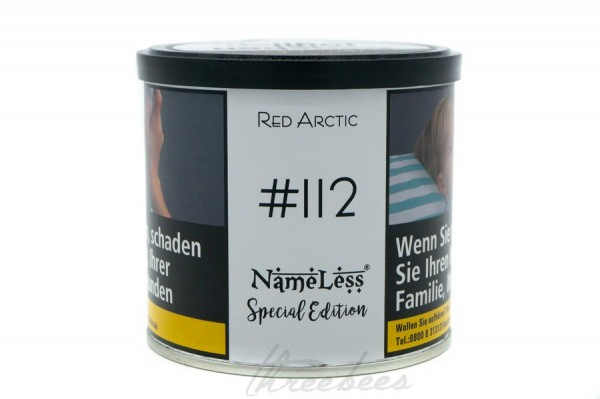 Nameless Tobacco Spezial Edition Red Artic #112 200g