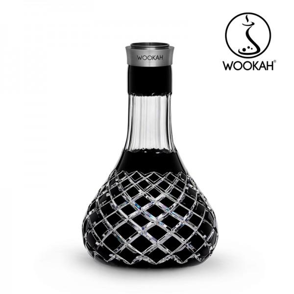 Wookah - Vase - Crystal - Check - Black