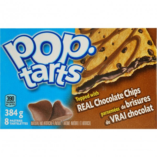 Kellogg`s POP tarts Frosted Chocoatstic 8 TOASTER PASTRIES 384g
