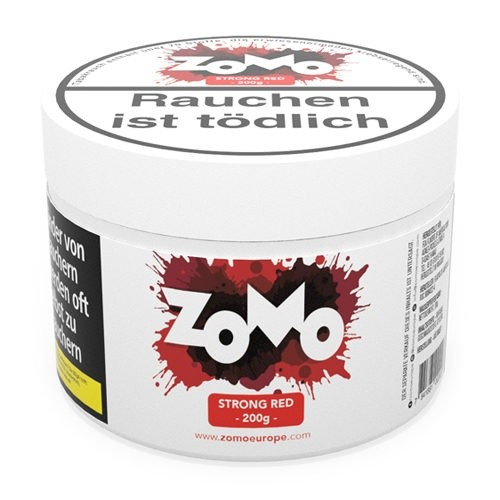 ZOMO Tobacco Strong Red 200g