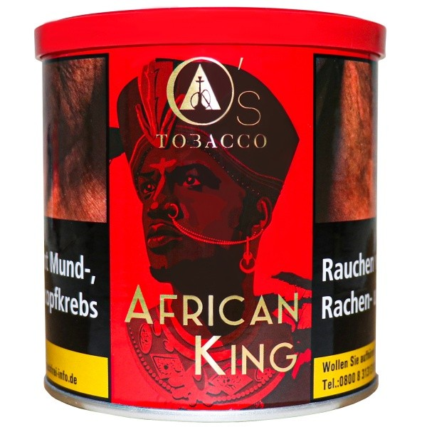 OS Tobacco - O ´ S Red Series - African King - 200g