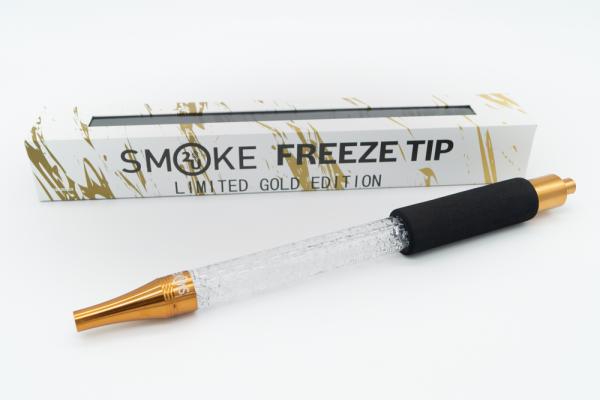 Smoke2u - Freeze Tip - Eis Mundstück - Gold Weiß