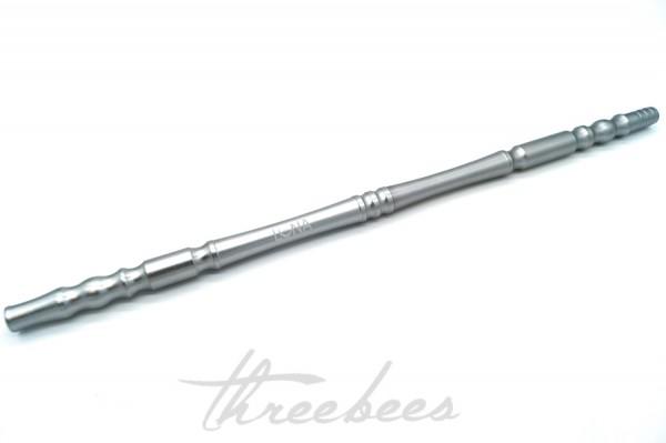 Luna - Aluminium Mundstück - Silber Matt