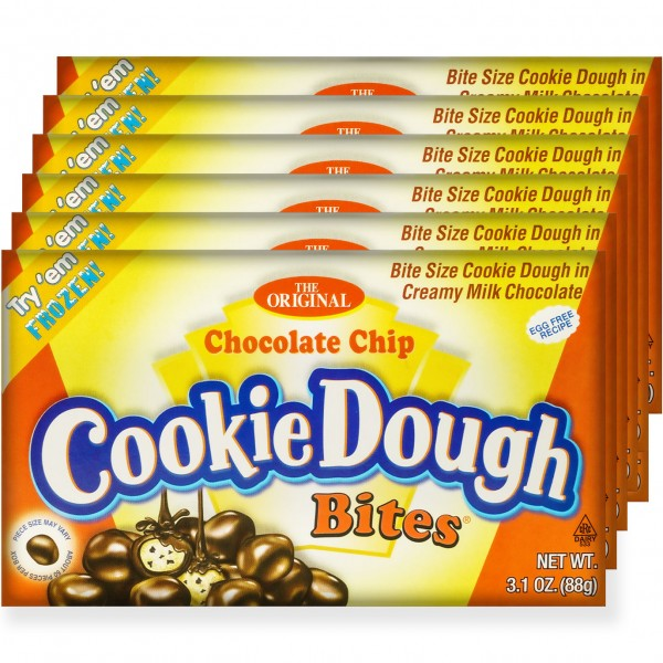 Cookie Dough Chocolate Chip Bites 88g 12erPack